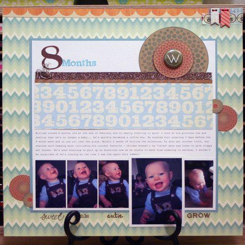 8 Months - William