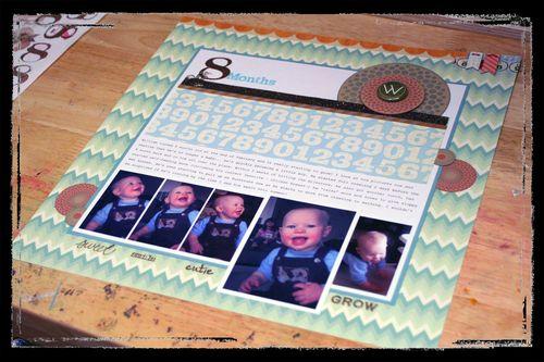 8 Months - William close-up 1