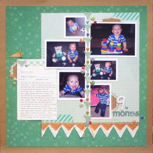 9 Months - William