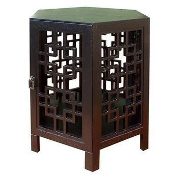Target Hexagonal Accent Table