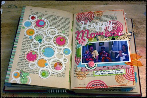 Happy Little Moments Pages 5-6