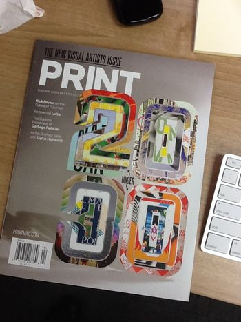 Print mag cover