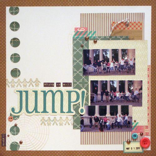 Jump - Sketchbook 4 No11a
