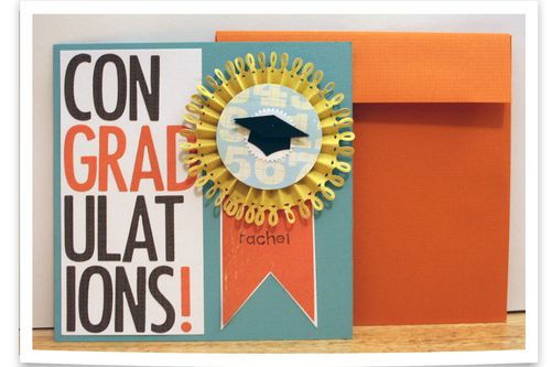 Rae's Graduation Card