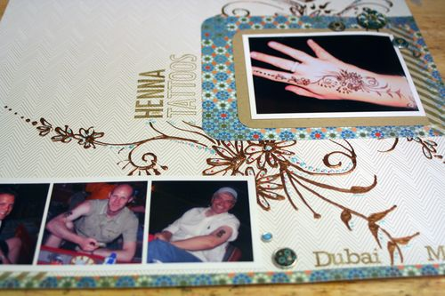 Henna Tattoos close-up 3