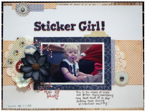 Sticker Girl
