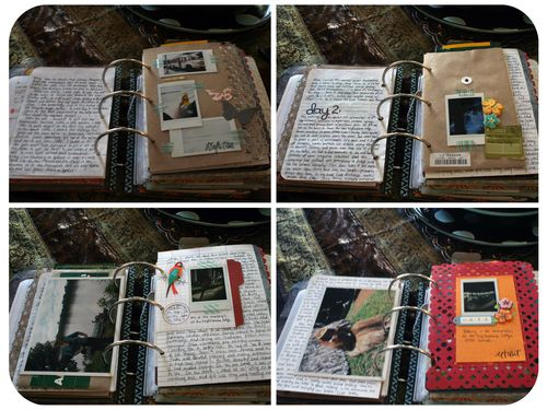 Peru Scrapbook on the Road - Set 2