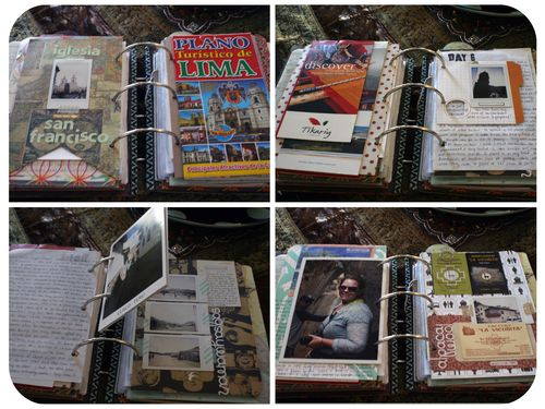 Peru Scrapbook on the Road - Set 4