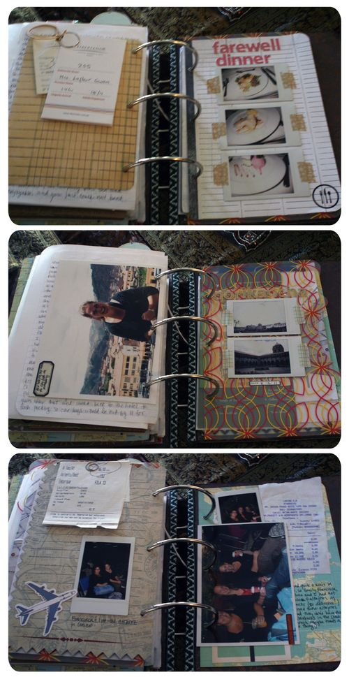 Peru Scrapbook on the Road - Set 5