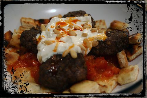 Kofte with Yogurt