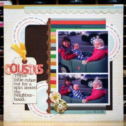 Cousins - Sketchbook 4 Sketch 1