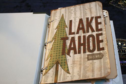 Tahoe Scrapbook on the Road 41
