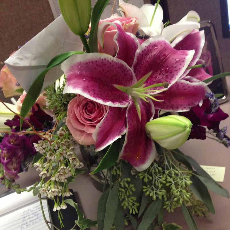 Birthday - Flowers from Steph