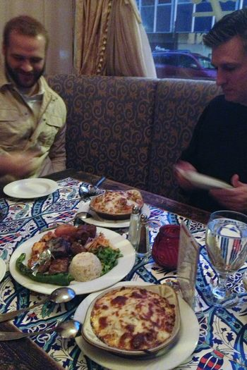 Birthday - Turkish food