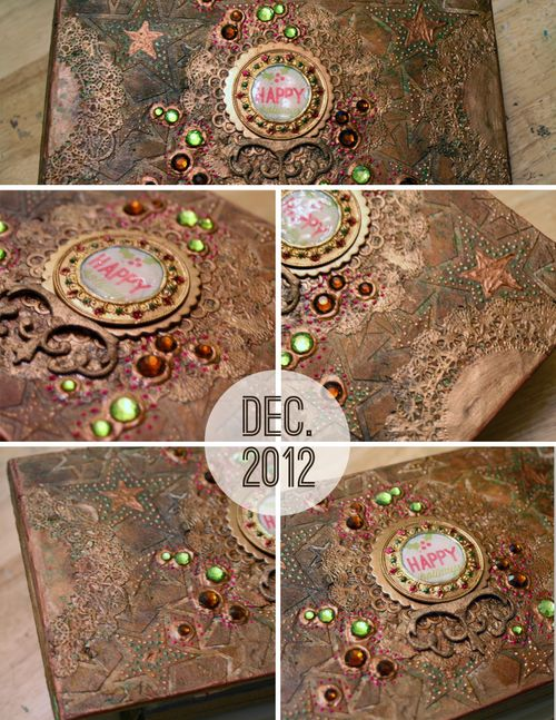 December Daily 2012 Cover Close-ups
