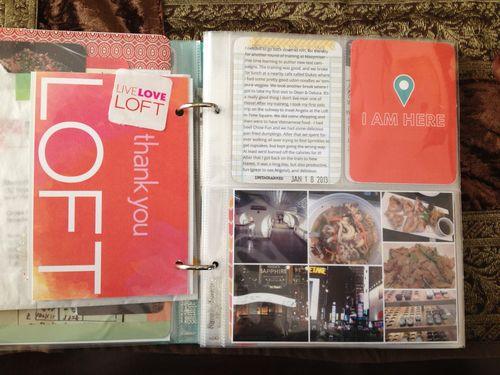 Project Life 2013 January p1-2