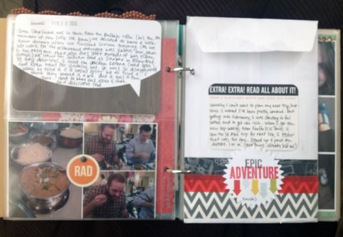 Project Life 2013 February p3