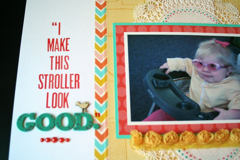 I Make This Stroller Look Good Close-up 3