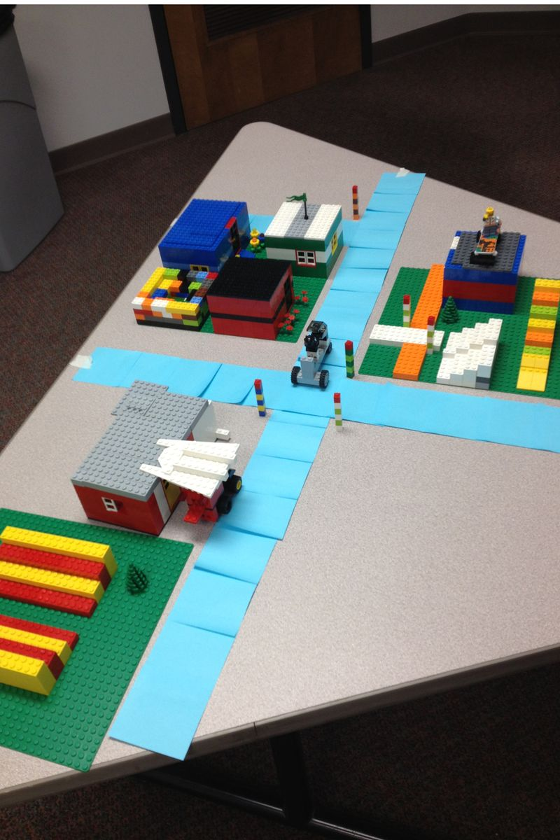 Scrum Training Lego Town