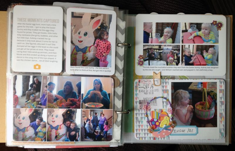 Project Life 2013 March p9-10