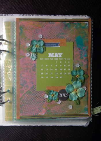 Project Life 2013 - May p1