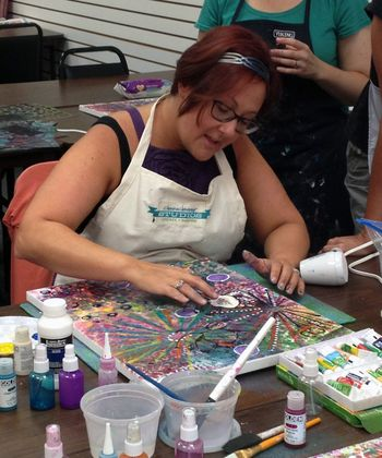 Paint Like an Artist - Donna Downey Class How-to