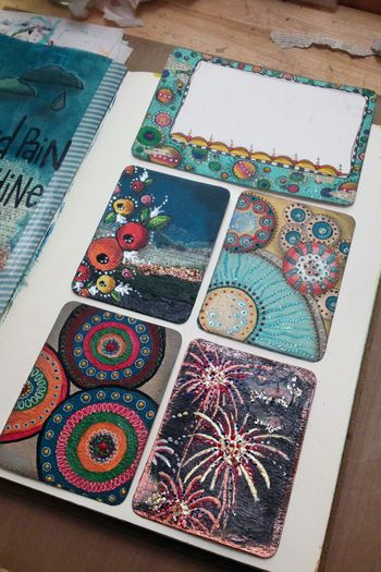 Mixed Media Project Life Cards - Gwen Lafleur