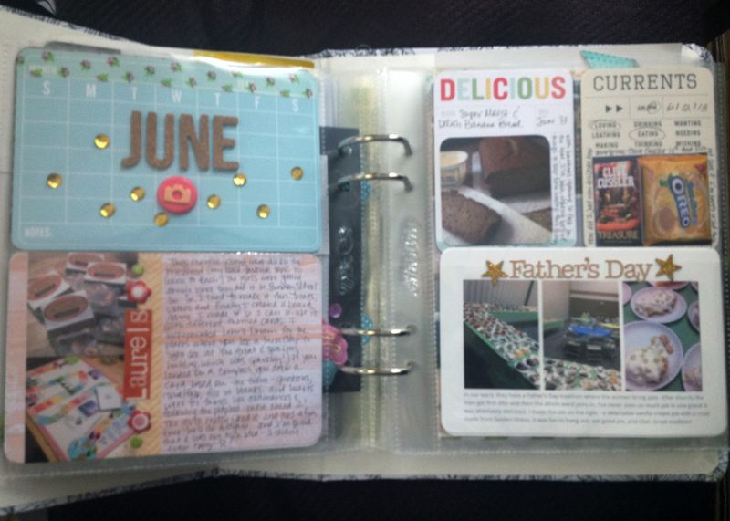 Project Life 2013 June p1-2