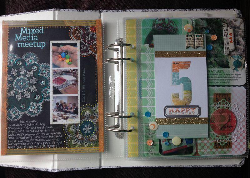 Project Life 2013 - May p2-3