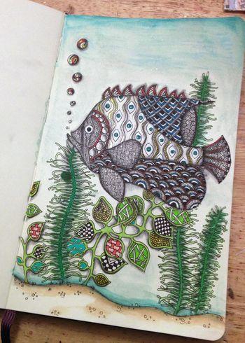 Zentangle Flowers 1 - Gwen Lafleur