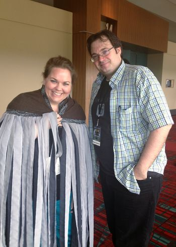 Wearing a Mistcloak - Meeting Brandon Sanderson