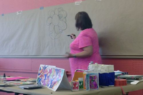 Doodling with Joanne Sharpe - Initial demo