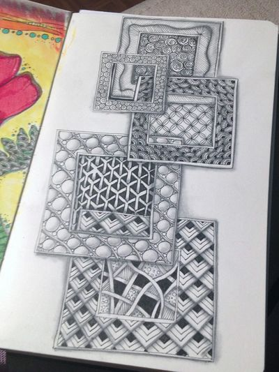 Zentangle Squares 1 - Gwen Lafleur