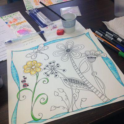 Dr Seuss' Garden - In Class