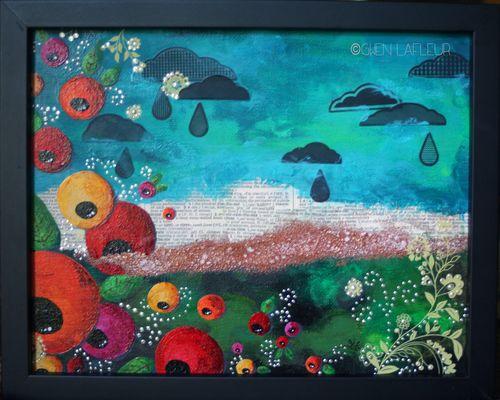 Sunshine and Rain Canvas - Gwen Lafleur