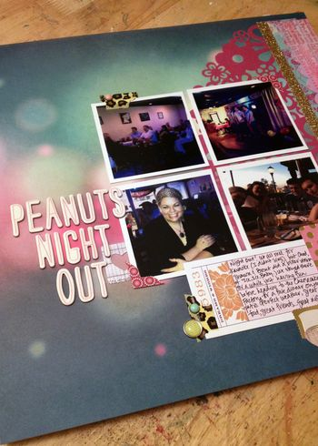 Peanuts Night Out Close-up