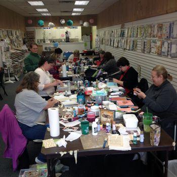 Cardboard Art Journal Class 1