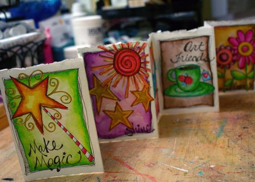 Watercolor Whimsy with Joanne Sharpe 1