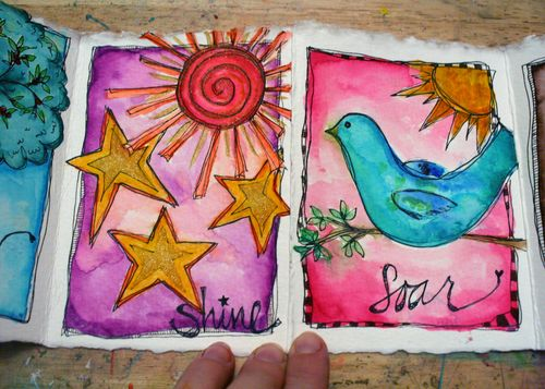Watercolor Whimsy with Joanne Sharpe 3