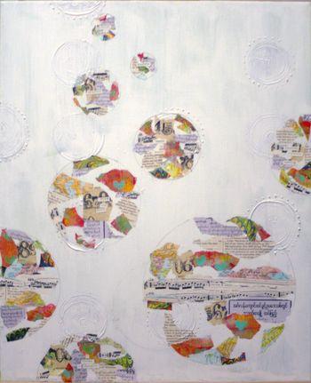 Wanderlust Canvas - Collage Layer