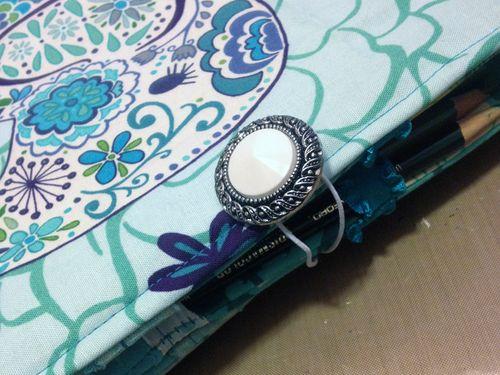 Homemade Colored Pencil Case Closure - Gwen Lafleur