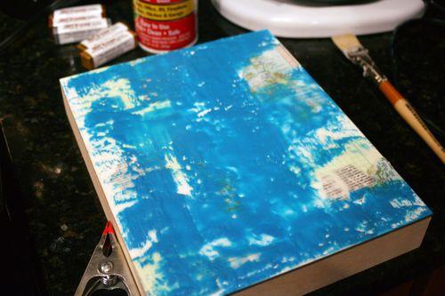 Orly Avineri Stencil Encaustic Painting 3 - Gwen Lafleur