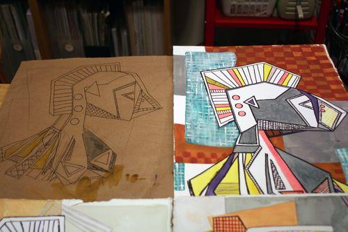 Artist and Sketchbook - Final Project 2 - Gwen Lafleur