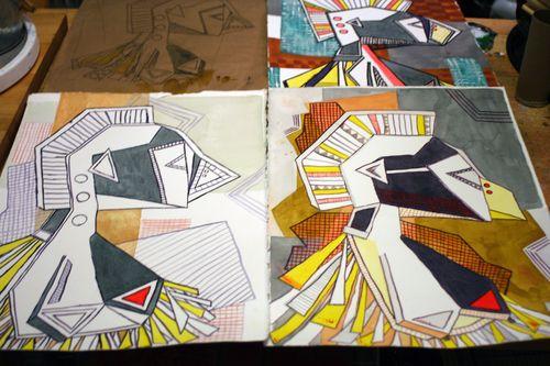 Artist and Sketchbook - Final Project 3 - Gwen Lafleur
