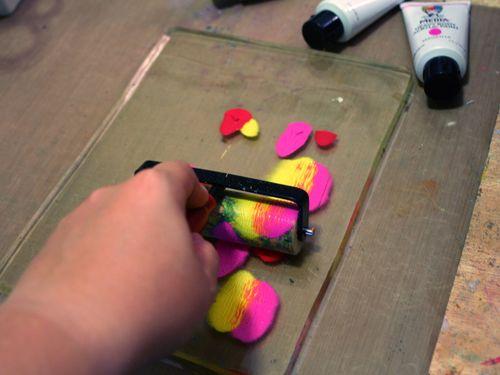 Printed Mini 2 by Gwen Lafleur - Traci Bautista-StencilGirl Blog Hop