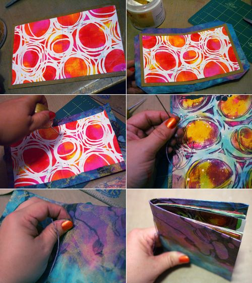 Printed Mini 13 by Gwen Lafleur - Traci Bautista-StencilGirl Blog Hop