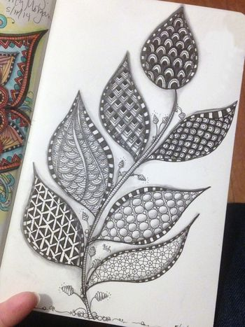 May Zentangle 1 - Gwen Lafleur