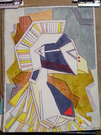 Artist and Sketchbook - Final Project - Gwen Lafleur