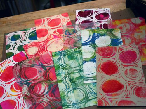 Printed Mini 4 by Gwen Lafleur - Traci Bautista-StencilGirl Blog Hop
