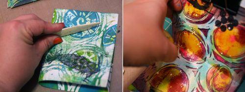 Printed Mini 11-12 by Gwen Lafleur - Traci Bautista-StencilGirl Blog Hop